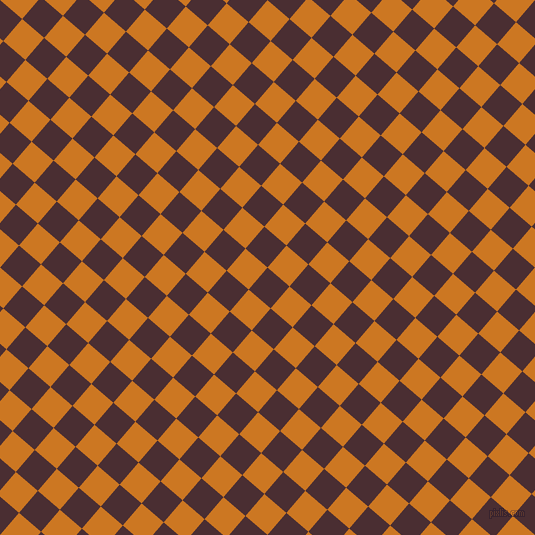 49/139 degree angle diagonal checkered chequered squares checker pattern checkers background, 29 pixel squares size, , Cab Sav and Ochre checkers chequered checkered squares seamless tileable
