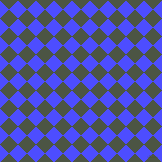 45/135 degree angle diagonal checkered chequered squares checker pattern checkers background, 44 pixel squares size, , Cabbage Pont and Neon Blue checkers chequered checkered squares seamless tileable