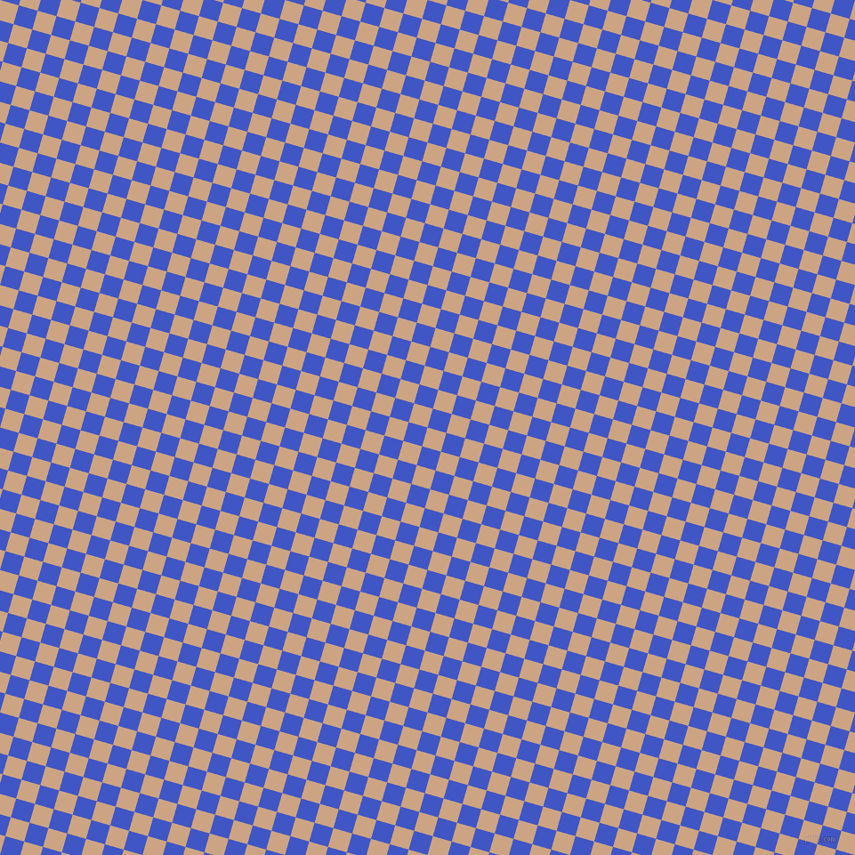 74/164 degree angle diagonal checkered chequered squares checker pattern checkers background, 22 pixel squares size, , Cameo and Free Speech Blue checkers chequered checkered squares seamless tileable