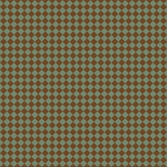 45/135 degree angle diagonal checkered chequered squares checker pattern checkers background, 19 pixel square size, , Camouflage Green and Cafe Royale checkers chequered checkered squares seamless tileable