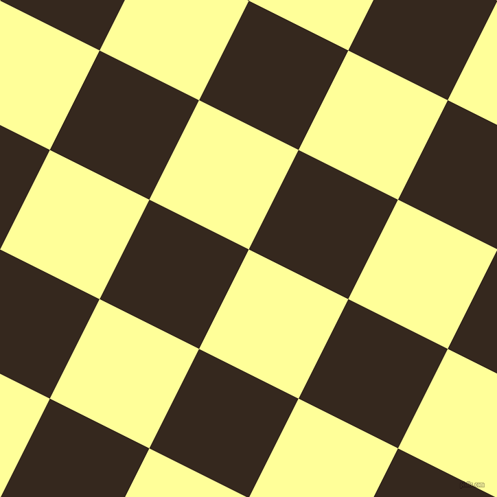 63/153 degree angle diagonal checkered chequered squares checker pattern checkers background, 162 pixel squares size, , Canary and Cocoa Brown checkers chequered checkered squares seamless tileable