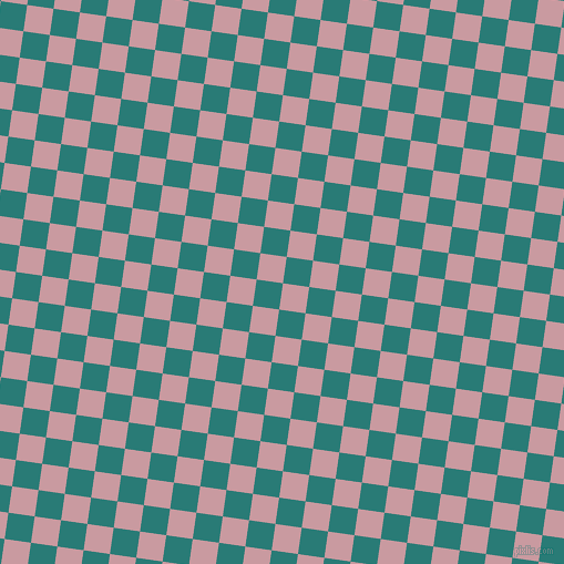 82/172 degree angle diagonal checkered chequered squares checker pattern checkers background, 24 pixel squares size, , Careys Pink and Elm checkers chequered checkered squares seamless tileable