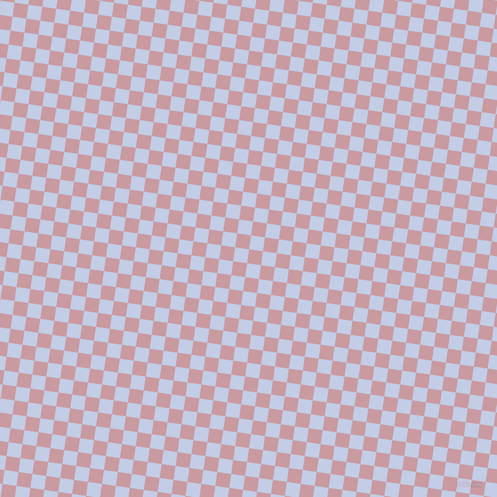 82/172 degree angle diagonal checkered chequered squares checker pattern checkers background, 20 pixel square size, , Careys Pink and Periwinkle checkers chequered checkered squares seamless tileable