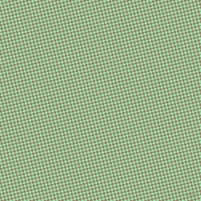 59/149 degree angle diagonal checkered chequered squares checker pattern checkers background, 8 pixel square size, , Celadon and Olive Haze checkers chequered checkered squares seamless tileable
