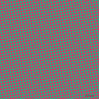 54/144 degree angle diagonal checkered chequered squares checker pattern checkers background, 8 pixel square size, , Cerise and Mountain Meadow checkers chequered checkered squares seamless tileable