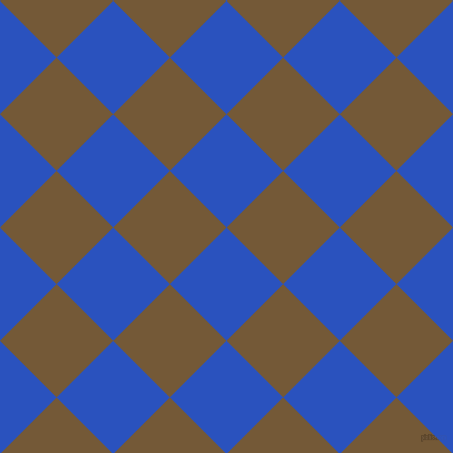 45/135 degree angle diagonal checkered chequered squares checker pattern checkers background, 113 pixel squares size, , Cerulean Blue and Shingle Fawn checkers chequered checkered squares seamless tileable