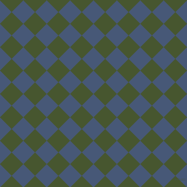 45/135 degree angle diagonal checkered chequered squares checker pattern checkers background, 55 pixel square size, , Chambray and Clover checkers chequered checkered squares seamless tileable