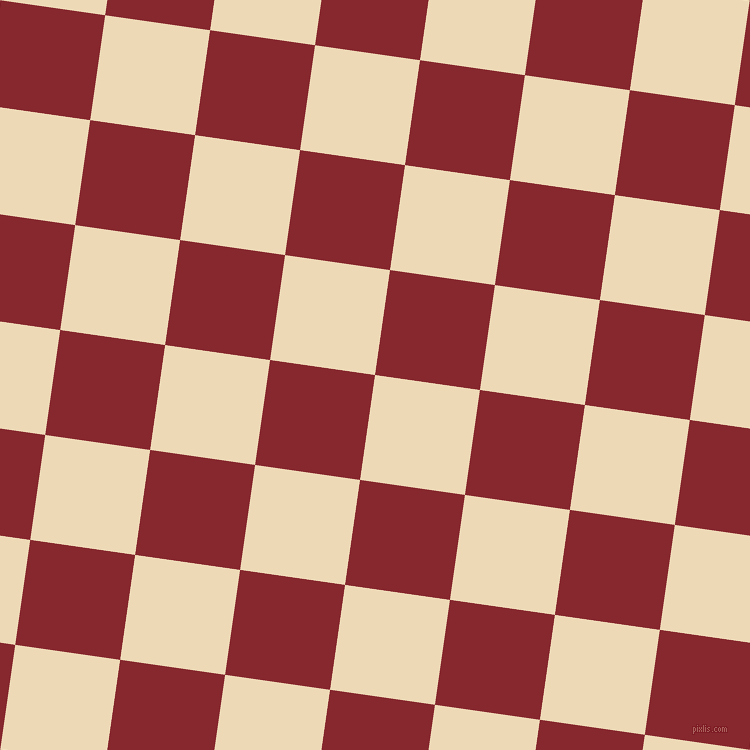 82/172 degree angle diagonal checkered chequered squares checker pattern checkers background, 106 pixel square size, , Champagne and Flame Red checkers chequered checkered squares seamless tileable