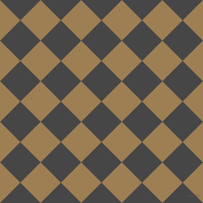 45/135 degree angle diagonal checkered chequered squares checker pattern checkers background, 92 pixel squares size, , Charcoal and Muesli checkers chequered checkered squares seamless tileable