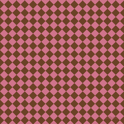 45/135 degree angle diagonal checkered chequered squares checker pattern checkers background, 19 pixel square size, , Charm and Semi-Sweet Chocolate checkers chequered checkered squares seamless tileable
