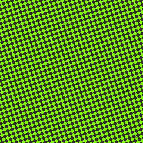 63/153 degree angle diagonal checkered chequered squares checker pattern checkers background, 11 pixel square size, , Chartreuse and Melanzane checkers chequered checkered squares seamless tileable