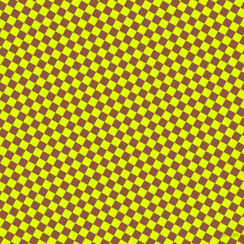 61/151 degree angle diagonal checkered chequered squares checker pattern checkers background, 16 pixel square size, , Chartreuse Yellow and Rope checkers chequered checkered squares seamless tileable