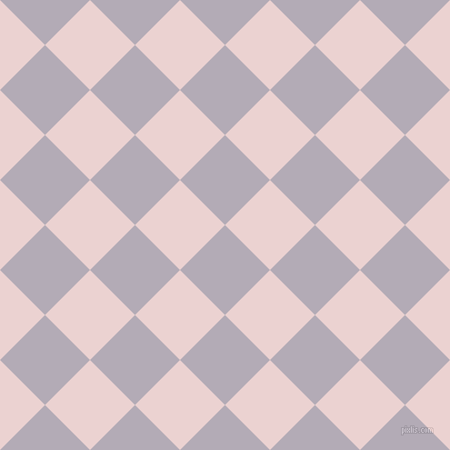 45/135 degree angle diagonal checkered chequered squares checker pattern checkers background, 70 pixel square size, Chatelle and Vanilla Ice checkers chequered checkered squares seamless tileable