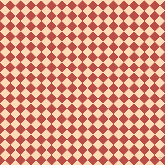 45/135 degree angle diagonal checkered chequered squares checker pattern checkers background, 24 pixel squares size, , Chestnut and Sandy Beach checkers chequered checkered squares seamless tileable