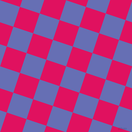 72/162 degree angle diagonal checkered chequered squares checker pattern checkers background, 87 pixel squares size, , Chetwode Blue and Ruby checkers chequered checkered squares seamless tileable