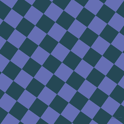 54/144 degree angle diagonal checkered chequered squares checker pattern checkers background, 47 pixel squares size, , Chetwode Blue and Teal Blue checkers chequered checkered squares seamless tileable
