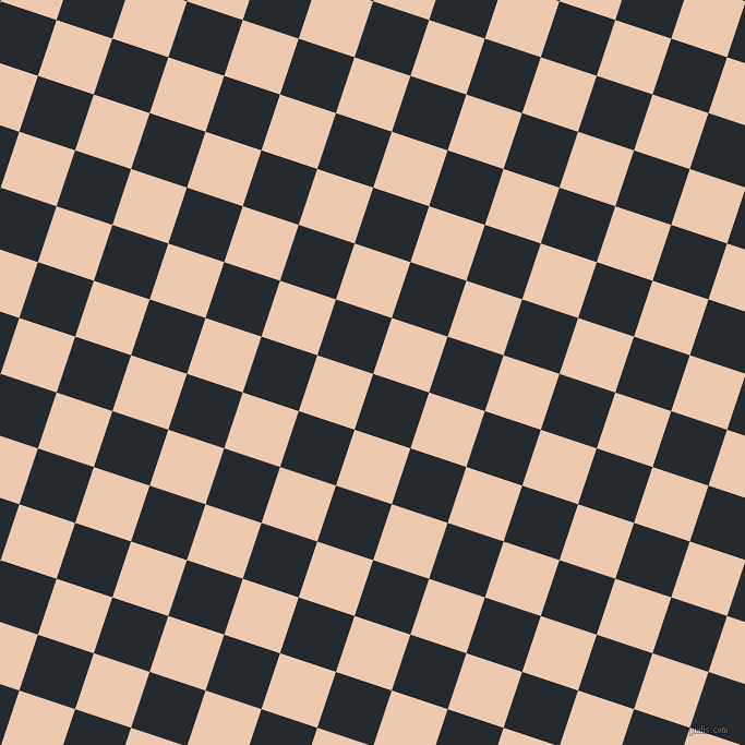 72/162 degree angle diagonal checkered chequered squares checker pattern checkers background, 54 pixel squares size, , Cinder and Desert Sand checkers chequered checkered squares seamless tileable