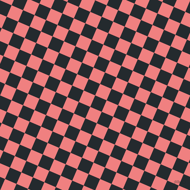 67/157 degree angle diagonal checkered chequered squares checker pattern checkers background, 40 pixel squares size, , Cinder and Light Coral checkers chequered checkered squares seamless tileable