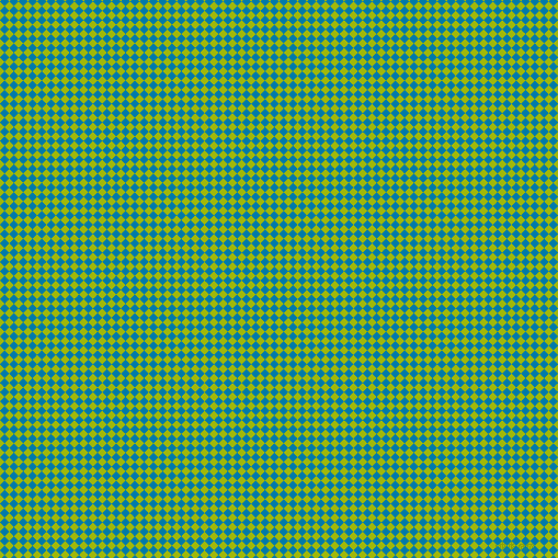 45/135 degree angle diagonal checkered chequered squares checker pattern checkers background, 6 pixel squares size, , Citrus and Cerulean checkers chequered checkered squares seamless tileable