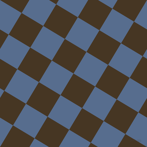59/149 degree angle diagonal checkered chequered squares checker pattern checkers background, 83 pixel squares size, , Clinker and Kashmir Blue checkers chequered checkered squares seamless tileable