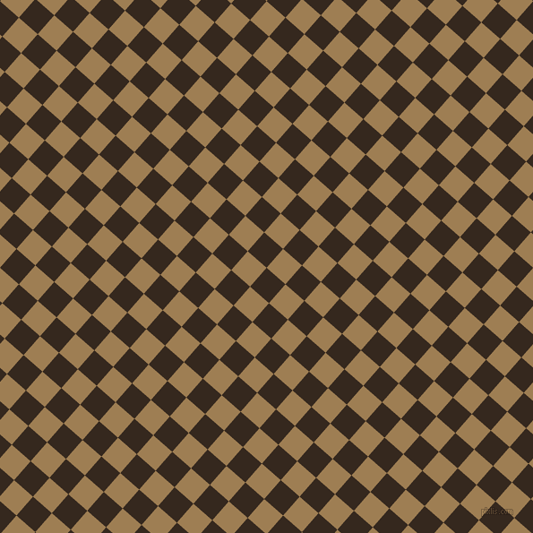 49/139 degree angle diagonal checkered chequered squares checker pattern checkers background, 28 pixel squares size, , Cocoa Brown and Muesli checkers chequered checkered squares seamless tileable