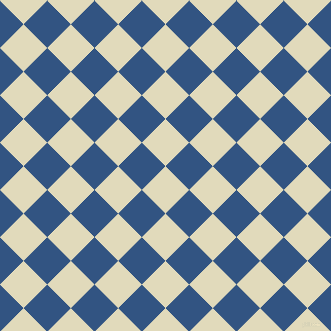 45/135 degree angle diagonal checkered chequered squares checker pattern checkers background, 66 pixel square size, , Coconut Cream and St Tropaz checkers chequered checkered squares seamless tileable