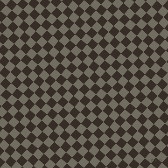 49/139 degree angle diagonal checkered chequered squares checker pattern checkers background, 26 pixel squares size, , Coffee Bean and Flint checkers chequered checkered squares seamless tileable