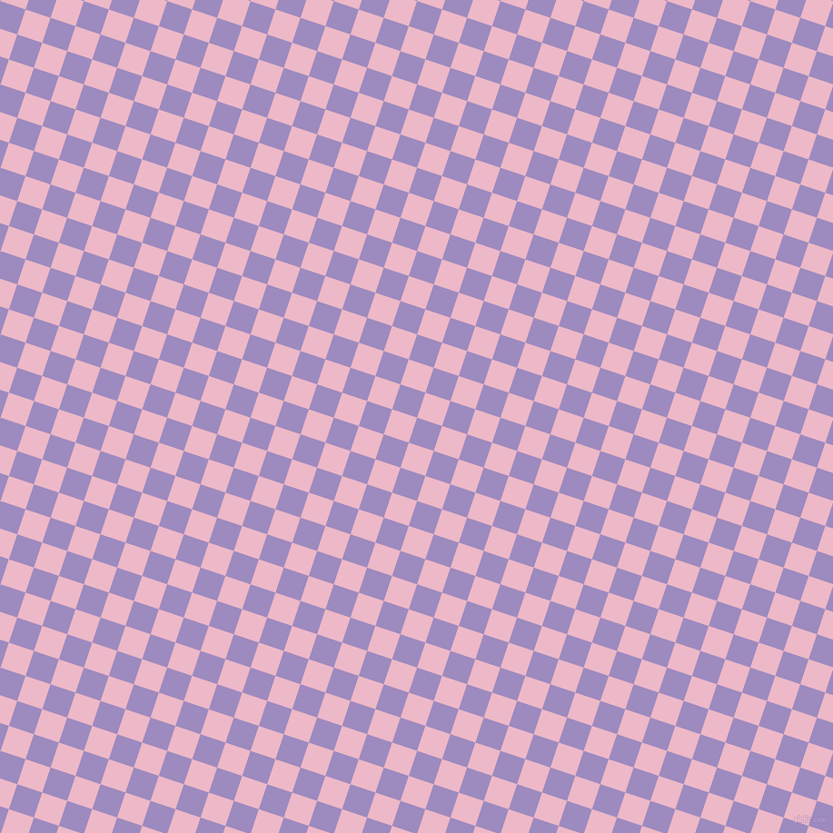 72/162 degree angle diagonal checkered chequered squares checker pattern checkers background, 29 pixel square size, , Cold Purple and Chantilly checkers chequered checkered squares seamless tileable