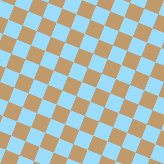 68/158 degree angle diagonal checkered chequered squares checker pattern checkers background, 50 pixel squares size, , Columbia Blue and Fallow checkers chequered checkered squares seamless tileable