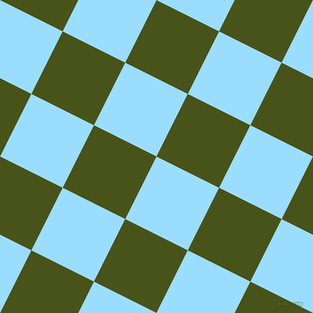 63/153 degree angle diagonal checkered chequered squares checker pattern checkers background, 99 pixel squares size, , Columbia Blue and Verdun Green checkers chequered checkered squares seamless tileable