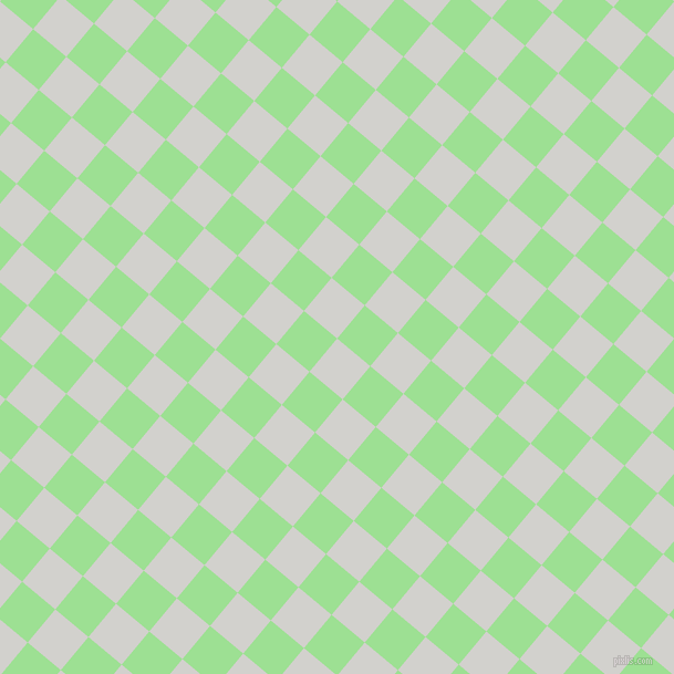 50/140 degree angle diagonal checkered chequered squares checker pattern checkers background, 39 pixel squares size, , Concrete and Granny Smith Apple checkers chequered checkered squares seamless tileable