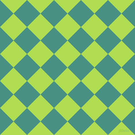 45/135 degree angle diagonal checkered chequered squares checker pattern checkers background, 66 pixel squares size, , Conifer and Lochinvar checkers chequered checkered squares seamless tileable