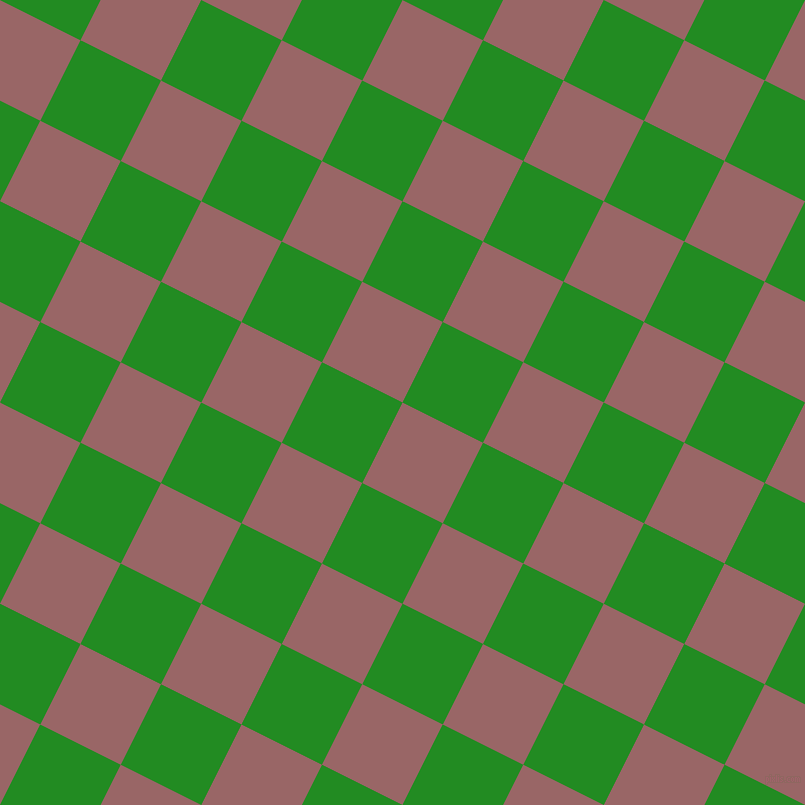 63/153 degree angle diagonal checkered chequered squares checker pattern checkers background, 90 pixel square size, , Copper Rose and Forest Green checkers chequered checkered squares seamless tileable