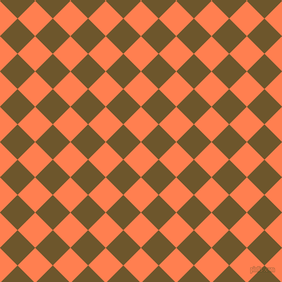 45/135 degree angle diagonal checkered chequered squares checker pattern checkers background, 36 pixel squares size, , Coral and Horses Neck checkers chequered checkered squares seamless tileable