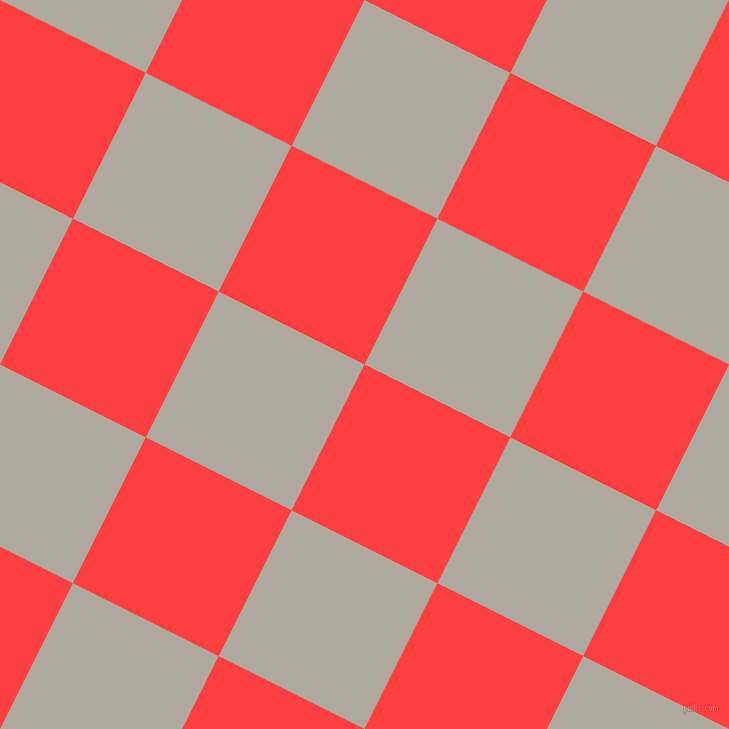 63/153 degree angle diagonal checkered chequered squares checker pattern checkers background, 163 pixel square size, , Coral Red and Cloudy checkers chequered checkered squares seamless tileable