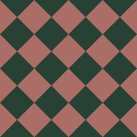 45/135 degree angle diagonal checkered chequered squares checker pattern checkers background, 82 pixel square size, , Coral Tree and English Holly checkers chequered checkered squares seamless tileable