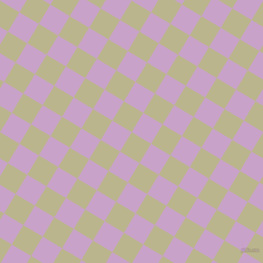 59/149 degree angle diagonal checkered chequered squares checker pattern checkers background, 44 pixel square size, , Coriander and Lilac checkers chequered checkered squares seamless tileable