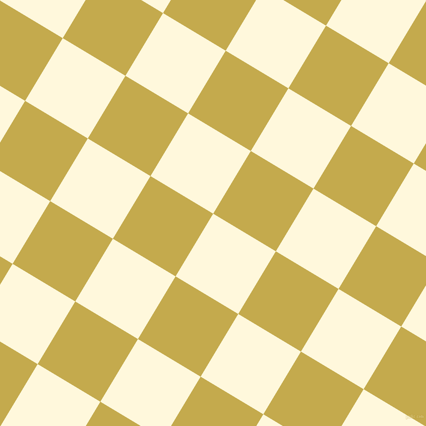 59/149 degree angle diagonal checkered chequered squares checker pattern checkers background, 145 pixel square size, , Corn Silk and Sundance checkers chequered checkered squares seamless tileable