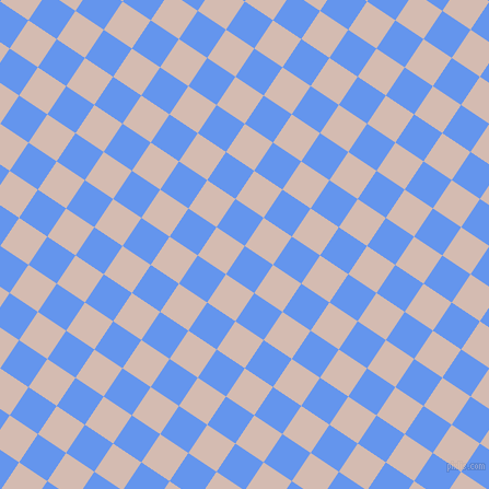 56/146 degree angle diagonal checkered chequered squares checker pattern checkers background, 31 pixel squares size, , Cornflower Blue and Wafer checkers chequered checkered squares seamless tileable