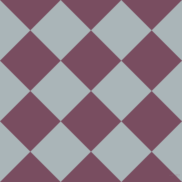 45/135 degree angle diagonal checkered chequered squares checker pattern checkers background, 148 pixel square size, , Cosmic and Casper checkers chequered checkered squares seamless tileable