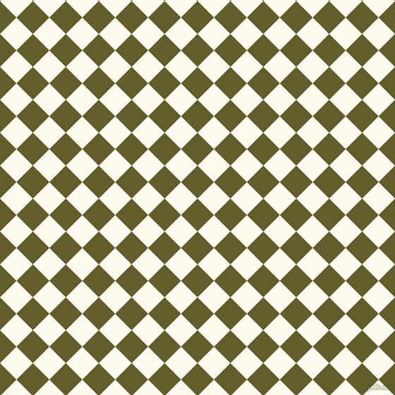 45/135 degree angle diagonal checkered chequered squares checker pattern checkers background, 33 pixel squares size, , Costa Del Sol and Floral White checkers chequered checkered squares seamless tileable