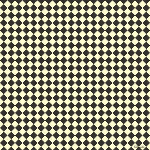 45/135 degree angle diagonal checkered chequered squares checker pattern checkers background, 18 pixel squares size, , Cream and Acadia checkers chequered checkered squares seamless tileable