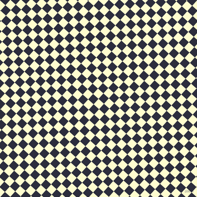 48/138 degree angle diagonal checkered chequered squares checker pattern checkers background, 30 pixel square size, , Cream and Black Rock checkers chequered checkered squares seamless tileable