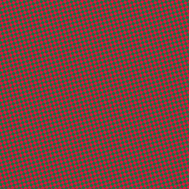 60/150 degree angle diagonal checkered chequered squares checker pattern checkers background, 10 pixel squares size, , Crimson and Dark Spring Green checkers chequered checkered squares seamless tileable