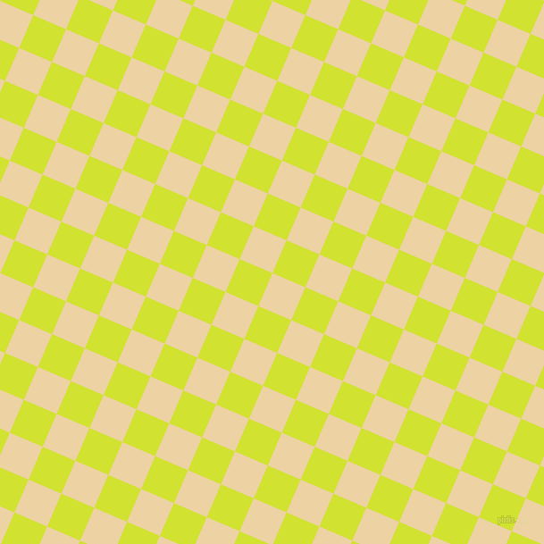 67/157 degree angle diagonal checkered chequered squares checker pattern checkers background, 40 pixel square size, , Dairy Cream and Pear checkers chequered checkered squares seamless tileable
