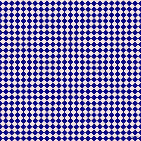 45/135 degree angle diagonal checkered chequered squares checker pattern checkers background, 14 pixel square size, , Dark Blue and Bridesmaid checkers chequered checkered squares seamless tileable