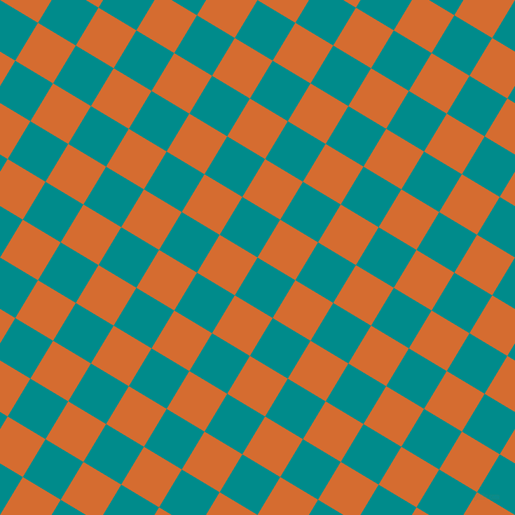 59/149 degree angle diagonal checkered chequered squares checker pattern checkers background, 63 pixel square size, , Dark Cyan and Gold Drop checkers chequered checkered squares seamless tileable