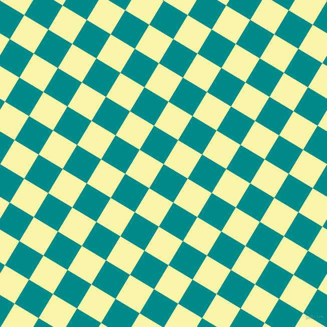 59/149 degree angle diagonal checkered chequered squares checker pattern checkers background, 56 pixel squares size, , Dark Cyan and Shalimar checkers chequered checkered squares seamless tileable