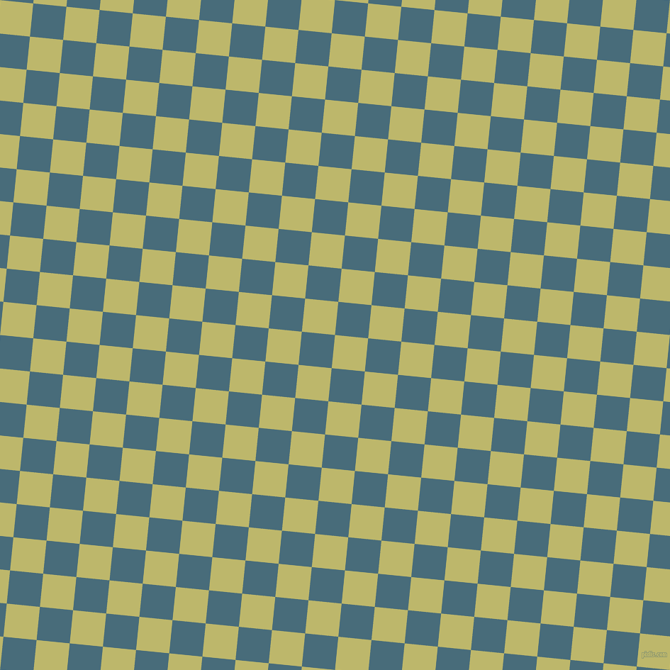 84/174 degree angle diagonal checkered chequered squares checker pattern checkers background, 47 pixel squares size, , Dark Khaki and Bismark checkers chequered checkered squares seamless tileable