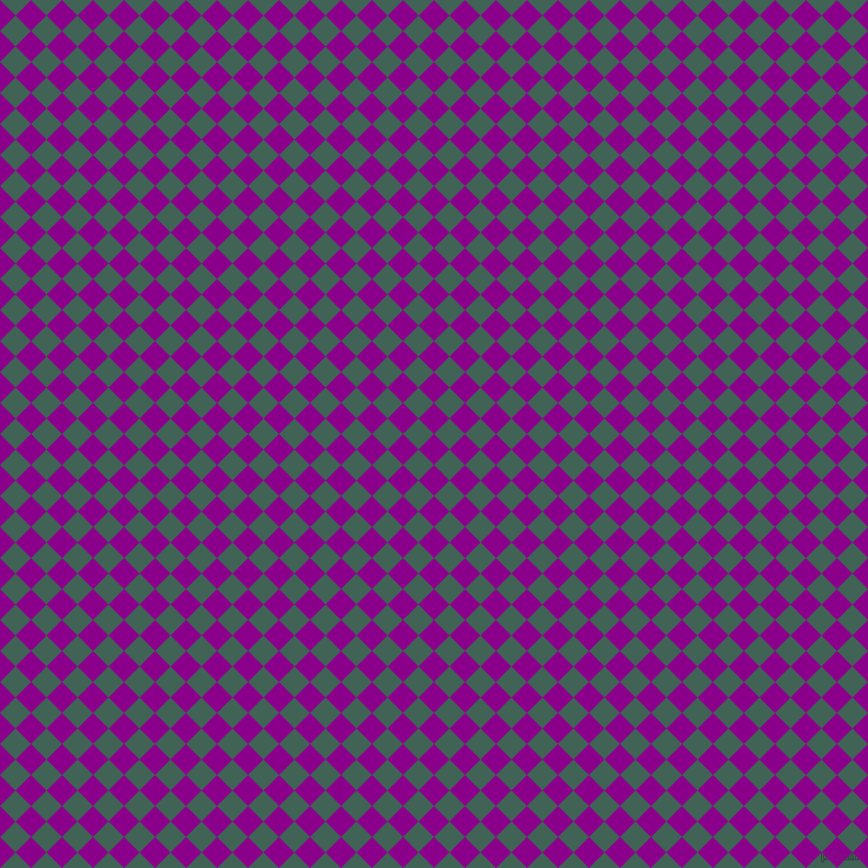45/135 degree angle diagonal checkered chequered squares checker pattern checkers background, 20 pixel square size, , Dark Magenta and Stromboli checkers chequered checkered squares seamless tileable